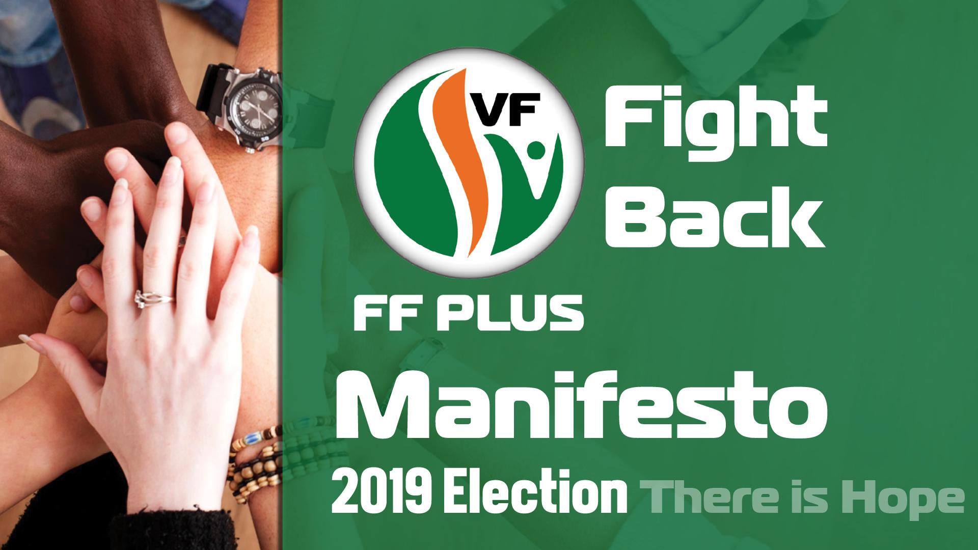 FF Plus Manifesto 2019